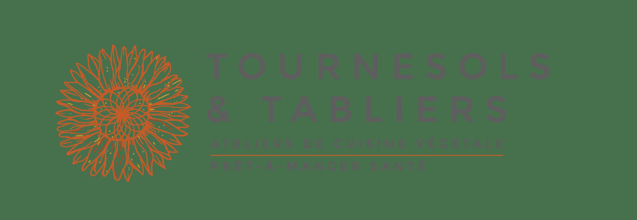 Tournesols et tabliers