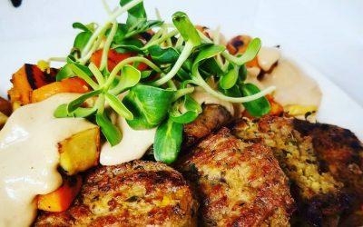 Croquettes de tofu et champignons