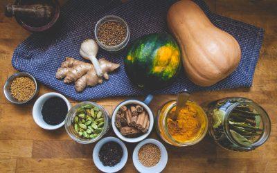 Soupe de légumes et lentilles aux épices d'hiver #masala