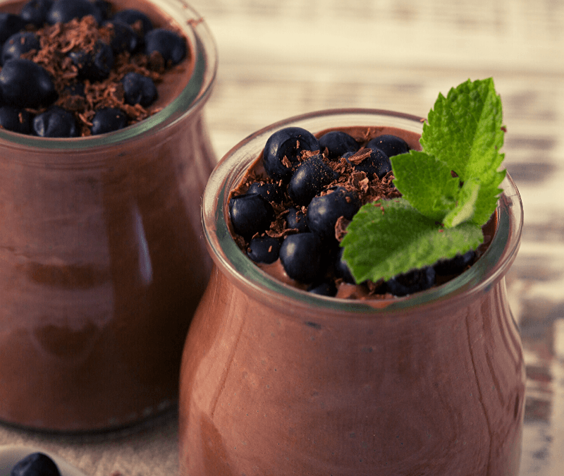 Mousse au chocolat et à la cardamome
