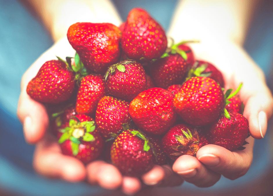 Vinaigrette à la fraise et simplifier la cuisine d'été