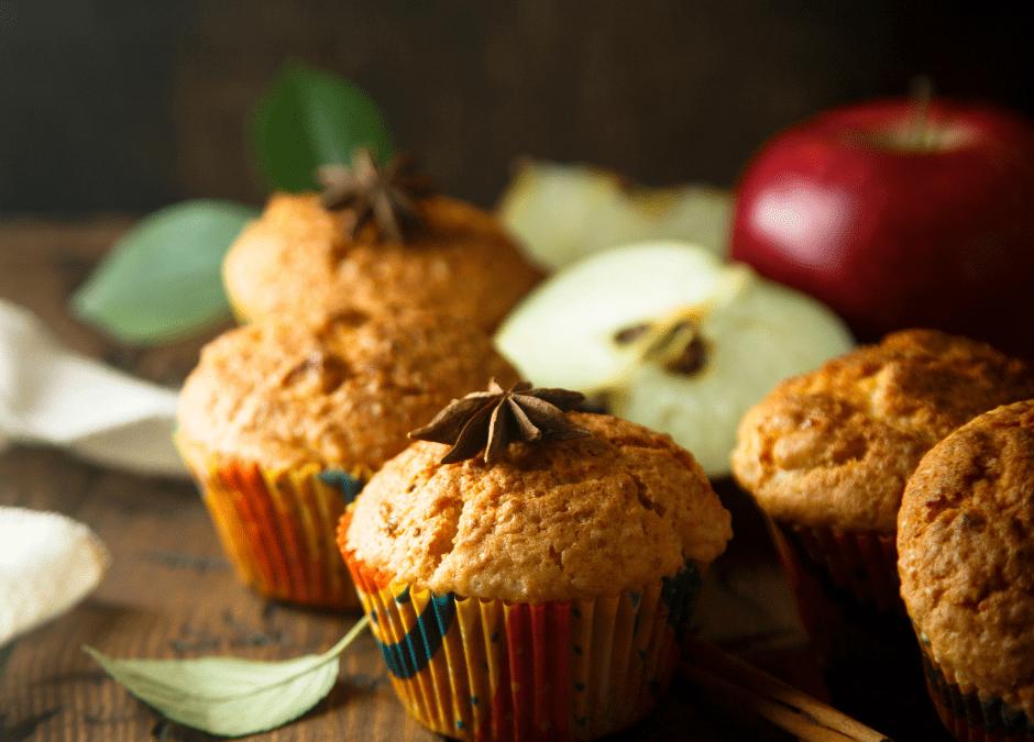 Muffins aux pommes et épices chaï