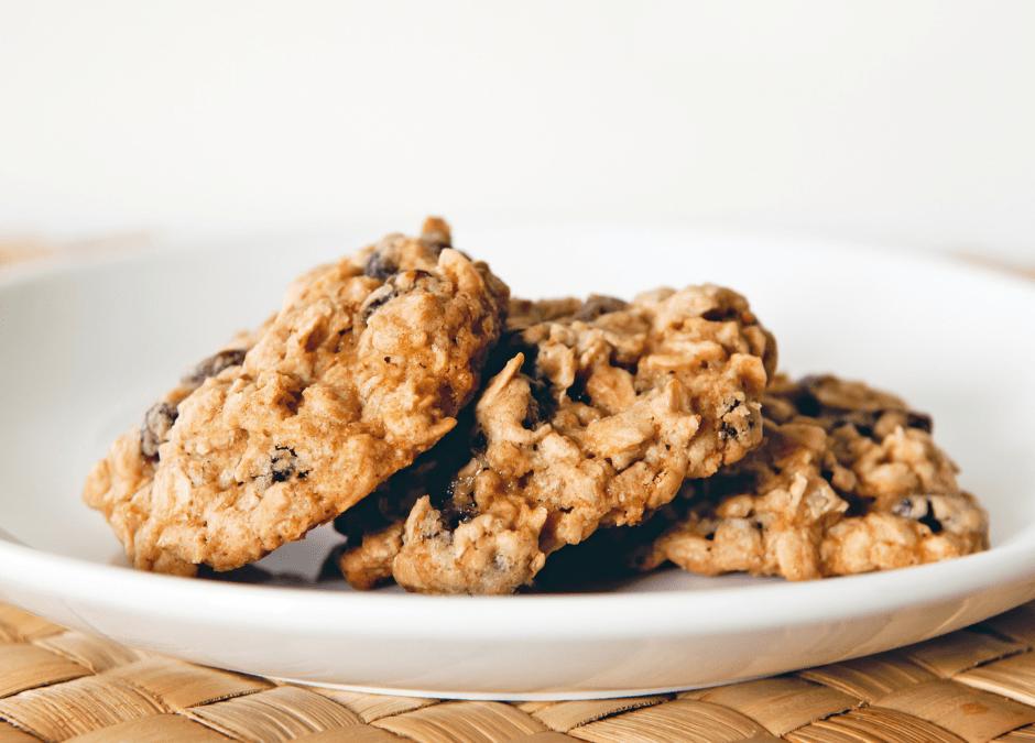Biscuit à l'avoine et au beurre de noix
