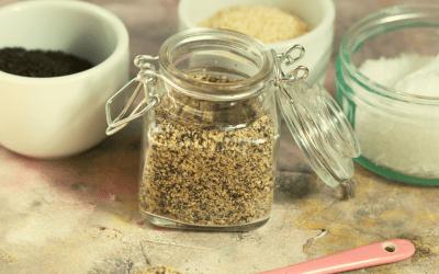 Gomasio (sel de sésame rôti)