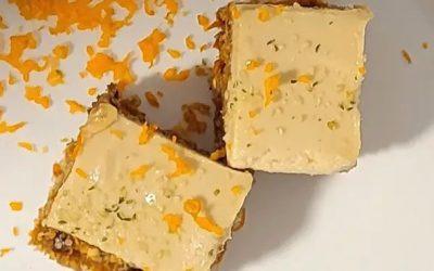 Gâteau cru aux carottes, betteraves et canneberges